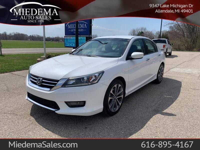 2015 Honda Accord for sale at Miedema Auto Sales in Allendale MI
