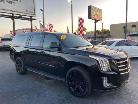 2015 Cadillac Escalade ESV for sale at MACHADO AUTO SALES in Miami FL