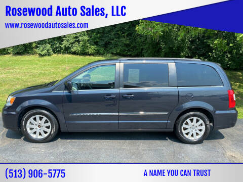 2014 Chrysler Town and Country for sale at Rosewood Auto Sales, LLC in Hamilton OH