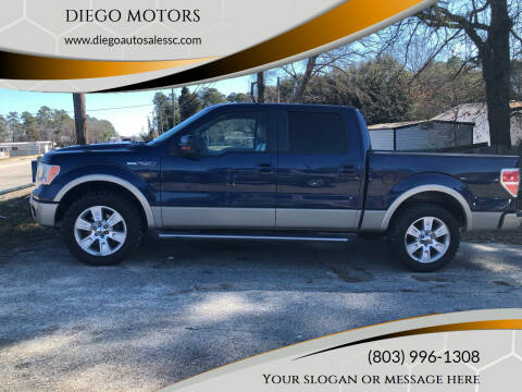 2010 Ford F-150 for sale at DIEGO MOTORS in Lexington SC