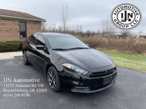 2015 Dodge Dart for sale at IJN Automotive Group LLC in Reynoldsburg OH