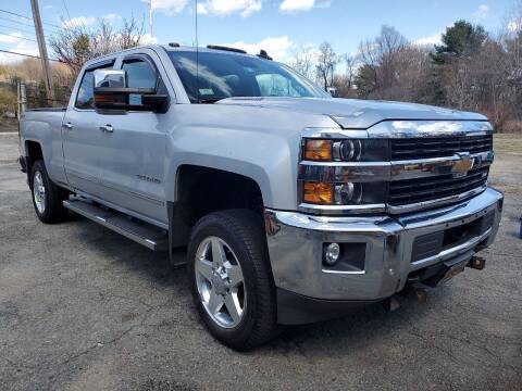 2015 Chevrolet Silverado 2500HD for sale at Oxford Auto Sales in North Oxford MA