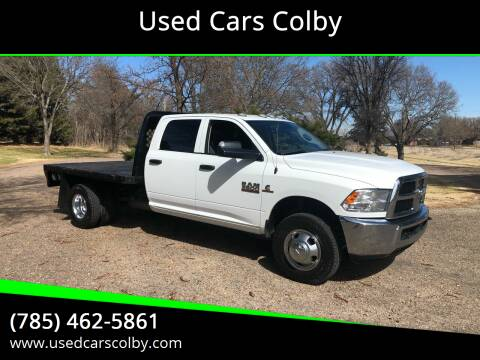 2016 RAM Ram Chassis 3500 for sale at Used Cars Colby in Colby KS