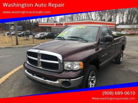 2004 Dodge Ram Pickup 1500 for sale at Washington Auto Repair in Washington NJ