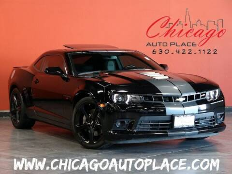 2015 Chevrolet Camaro for sale at Chicago Auto Place in Bensenville IL