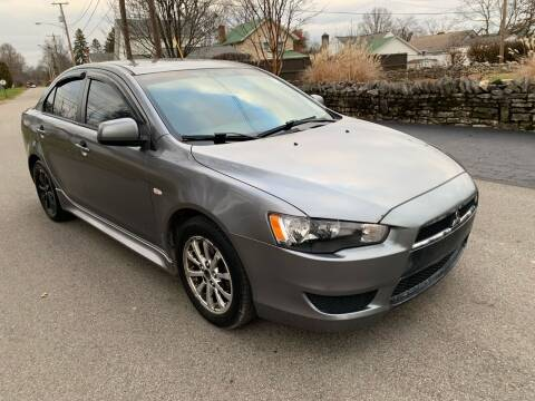 2012 Mitsubishi Lancer for sale at Via Roma Auto Sales in Columbus OH