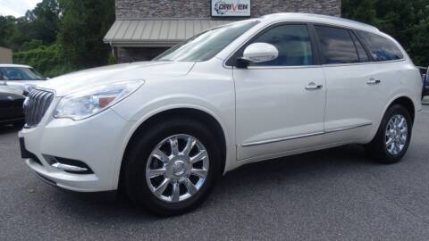 2013 Buick Enclave for sale at Driven Pre-Owned in Lenoir NC