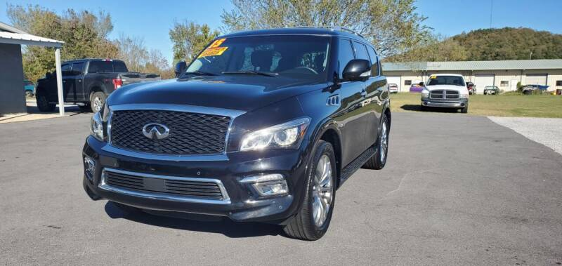 2015 Infiniti QX80 for sale at Jacks Auto Sales in Mountain Home AR