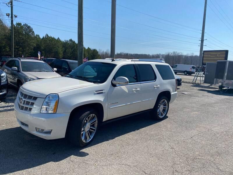 2013 Cadillac Escalade for sale at Billy Ballew Motorsports in Dawsonville GA