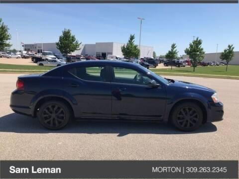 2013 Dodge Avenger for sale at Sam Leman CDJRF Morton in Morton IL