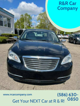 2012 Chrysler 200 for sale at R&R Car Company in Mount Clemens MI
