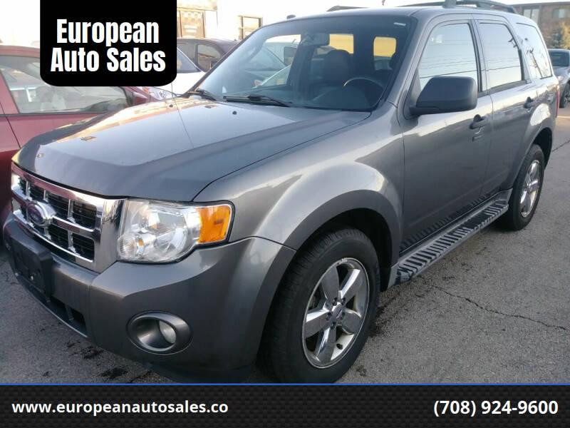 2009 Ford Escape for sale at European Auto Sales in Bridgeview IL