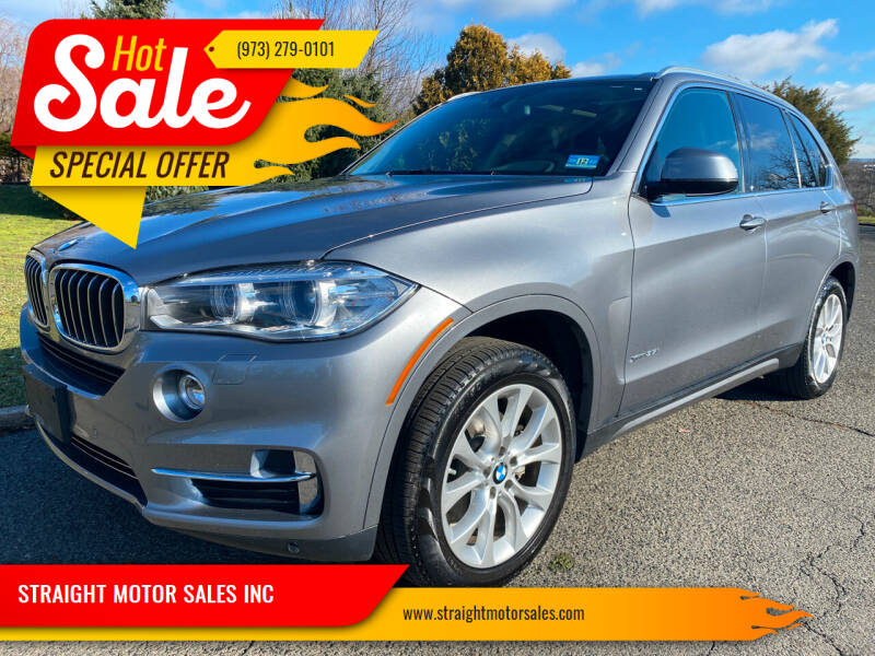 2014 BMW X5 for sale at STRAIGHT MOTOR SALES INC in Paterson NJ
