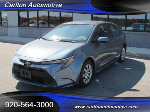 2020 Toyota Corolla for sale at Carlton Automotive Inc in Oostburg WI