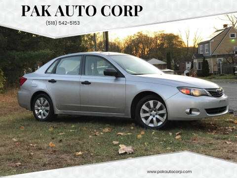 2008 Subaru Impreza for sale at Pak Auto Corp in Schenectady NY