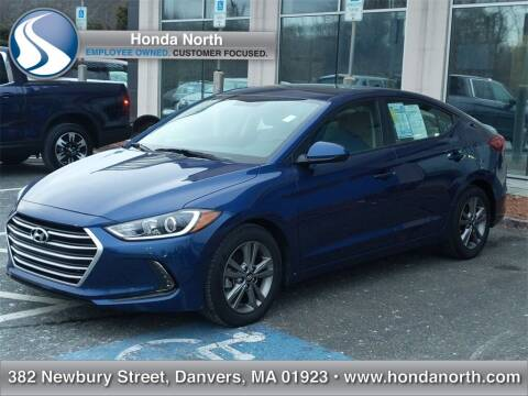 2018 Hyundai Elantra for sale at 1 North Preowned in Danvers MA