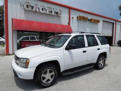 2006 Chevrolet TrailBlazer for sale at Gagel's Auto Sales in Gibsonton FL