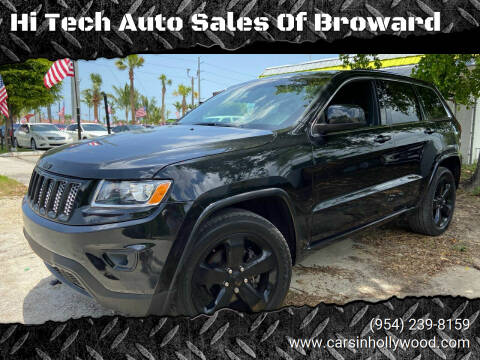 2015 Jeep Grand Cherokee for sale at Hi Tech Auto Sales Of Broward in Hollywood FL