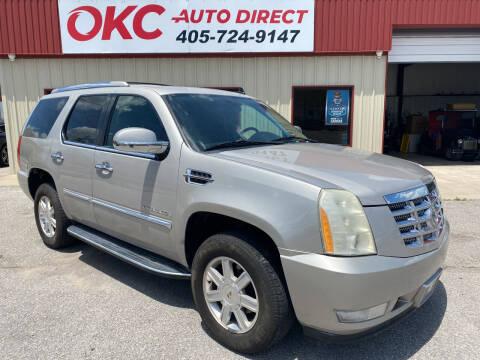 2008 Cadillac Escalade for sale at OKC Auto Direct in Oklahoma City OK