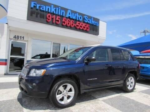 2012 Jeep Compass for sale at Franklin Auto Sales in El Paso TX