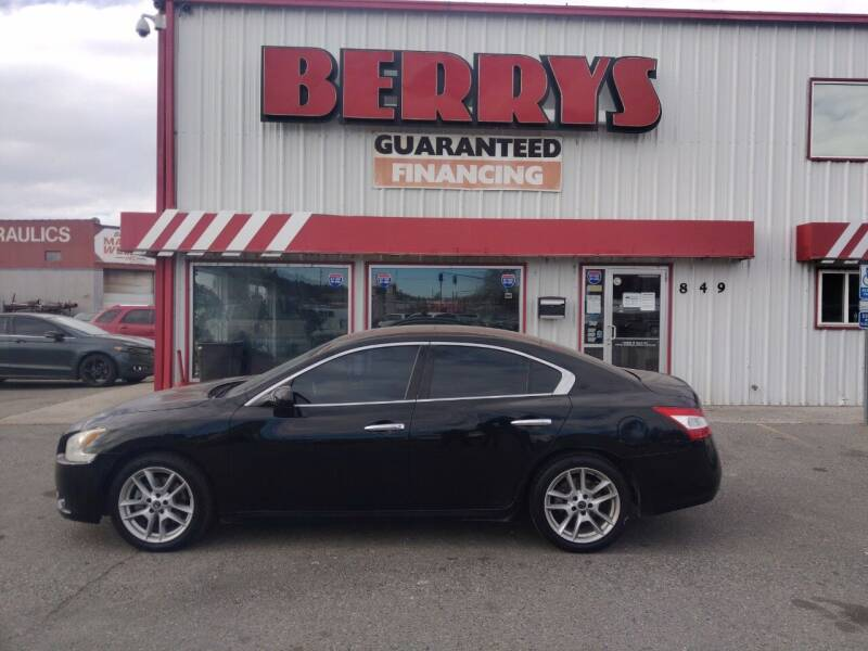 2010 Nissan Maxima for sale at Berry's Cherries Auto in Billings MT