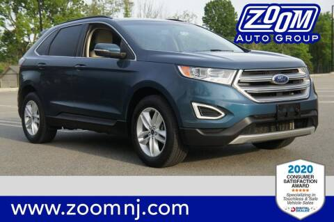 2016 Ford Edge for sale at Zoom Auto Group in Parsippany NJ