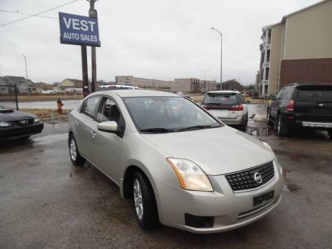 2007 Nissan Sentra for sale at VEST AUTO SALES in Kansas City MO