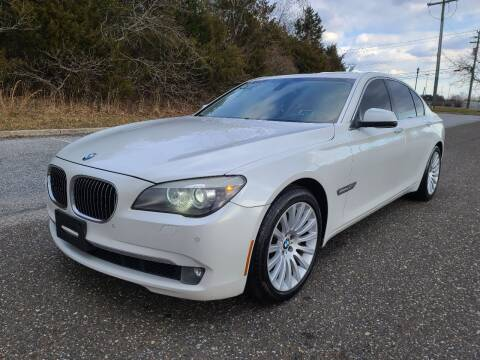 2011 BMW 7 Series for sale at Premium Auto Outlet Inc in Sewell NJ