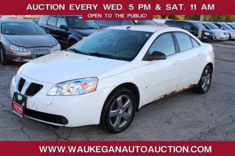 2008 Pontiac G6 for sale at Waukegan Auto Auction in Waukegan IL