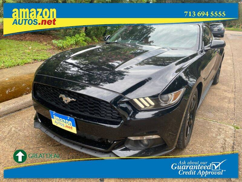 2015 Ford Mustang for sale at Amazon Autos in Houston TX