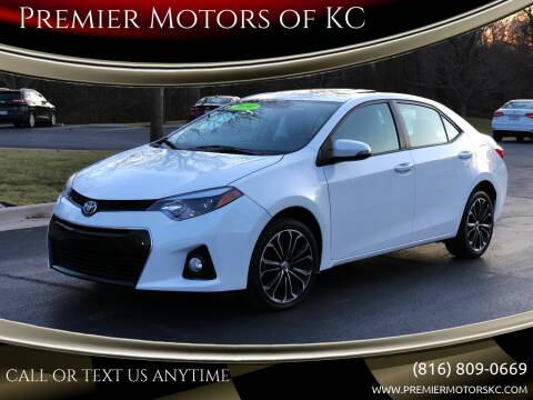 2014 Toyota Corolla for sale at Premier Motors of KC in Kansas City MO