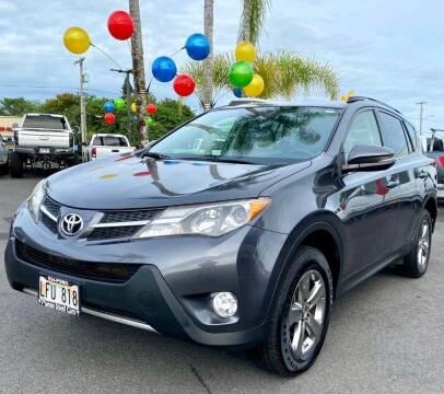 2015 Toyota RAV4 for sale at PONO'S USED CARS in Hilo HI