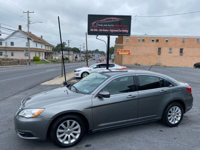 2012 Chrysler 200 for sale at Fineline Auto Group LLC in Harrisburg PA