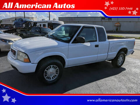 2001 GMC Sonoma for sale at All American Autos in Kingsport TN