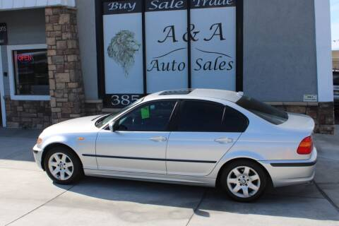 2004 BMW 3 Series for sale at A&A Auto Sales in Orem UT