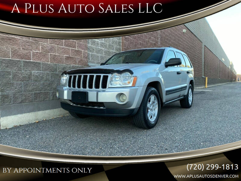 2005 Jeep Grand Cherokee for sale at A Plus Auto Sales LLC in Denver CO