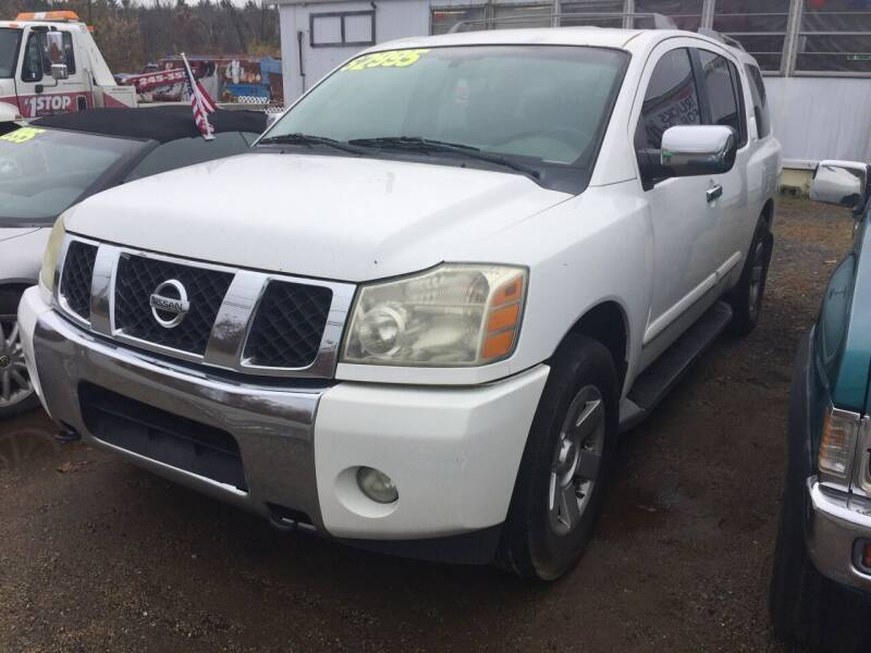 2004 Nissan Armada for sale at Classic Heaven Used Cars & Service in Brimfield MA