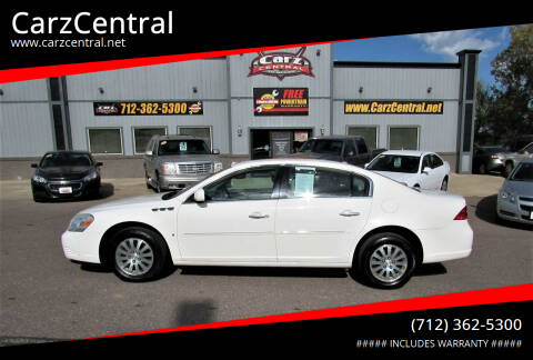2007 Buick Lucerne for sale at CarzCentral in Estherville IA