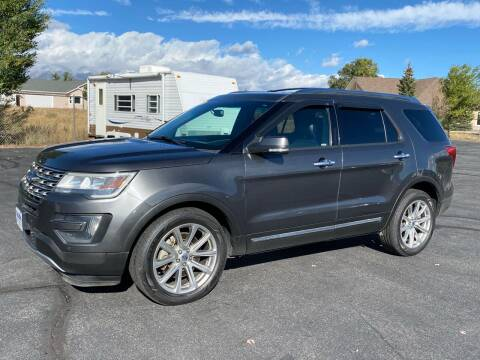 2016 Ford Explorer for sale at Salida Auto Sales in Salida CO