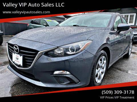 2015 Mazda MAZDA3 for sale at Valley VIP Auto Sales LLC in Spokane Valley WA