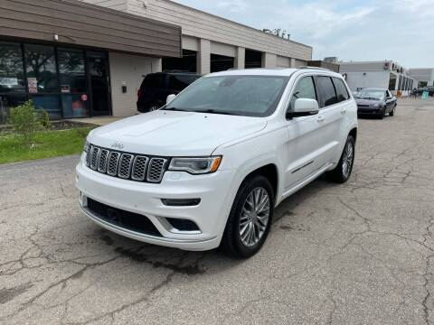 2017 Jeep Grand Cherokee for sale at Dean's Auto Sales in Flint MI