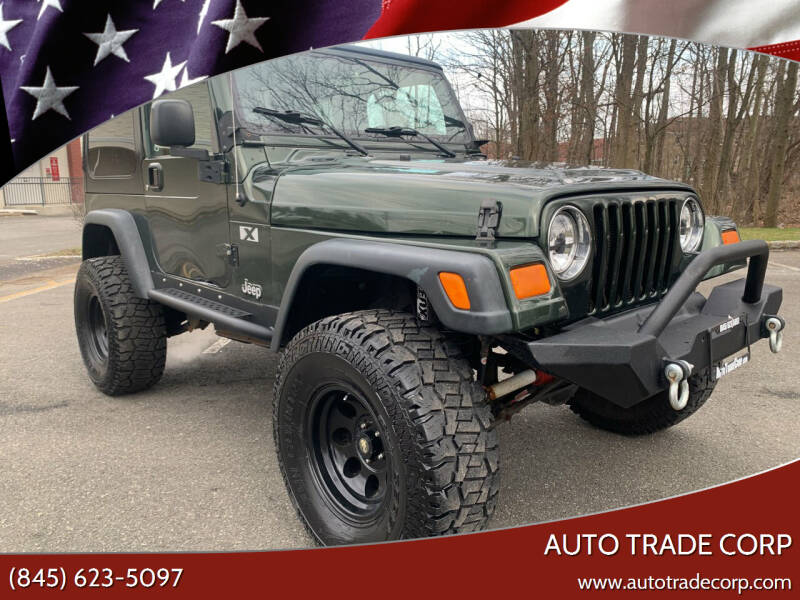 2005 Jeep Wrangler for sale at AUTO TRADE CORP in Nanuet NY