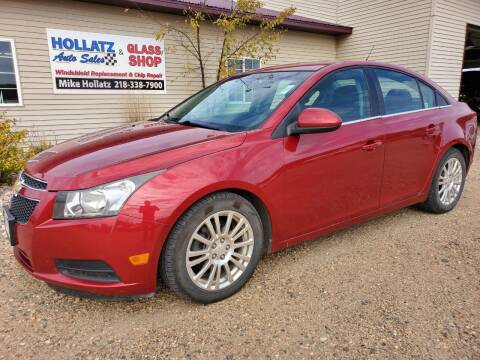2012 Chevrolet Cruze for sale at Hollatz Auto Sales in Parkers Prairie MN