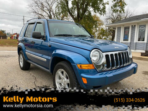 2005 Jeep Liberty for sale at Kelly Motors in Johnston IA