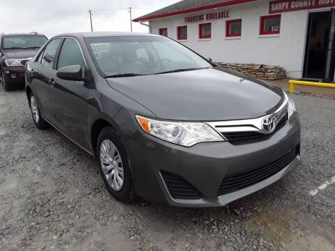2012 Toyota Camry for sale at Sarpy County Motors in Springfield NE