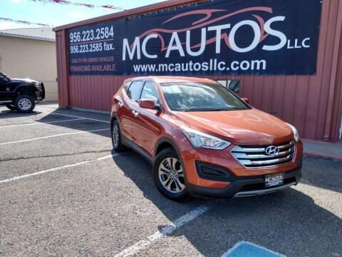 2013 Hyundai Santa Fe Sport for sale at MC Autos LLC in Pharr TX
