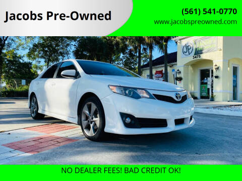 2013 Toyota Camry for sale at Jacobs Pre-Owned in Lake Worth FL