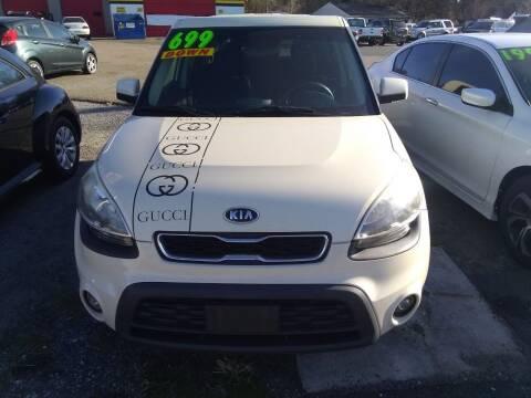 2012 Kia Soul for sale at Marino's Auto Sales in Laurel DE