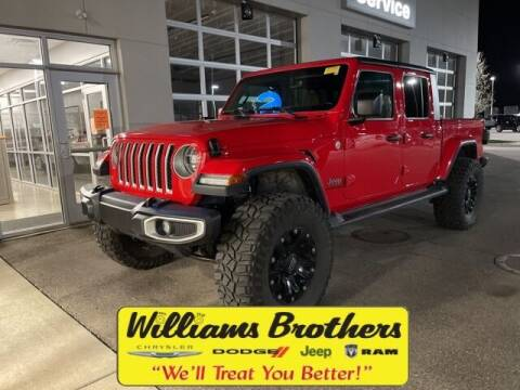 2020 Jeep Gladiator for sale at Williams Brothers - Pre-Owned Monroe in Monroe MI