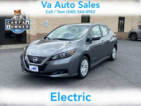 2018 Nissan LEAF for sale at Va Auto Sales in Harrisonburg VA